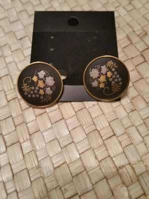 Vintage (1940)Japanese Shakudo earrings for Sale in Tacoma, WA
