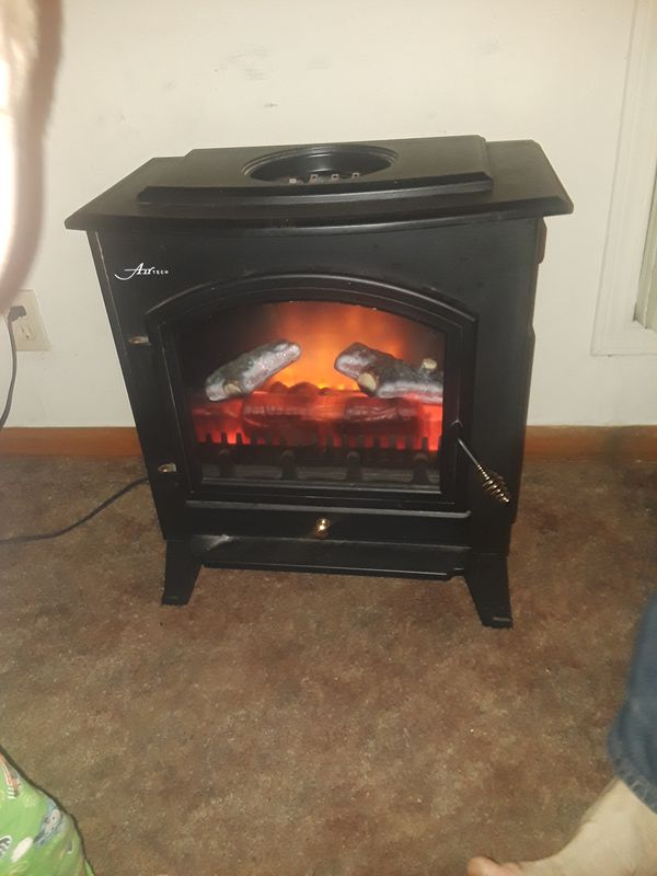 Airtech Faux Fireplace And Heater For Sale In Tulsa Ok Offerup