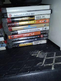 PS3 GAMES CHEAP / PS3 (NO CORDS) FOR SELL Thumbnail