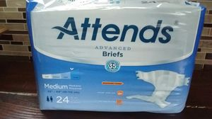 Medium briefs new never opened 24 count asking $10 dollars must pick up your self for Sale in Cudahy, CA