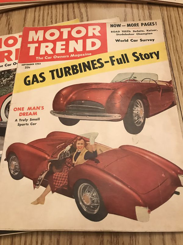 1953 Vintage Motor Trend Automotive Car Magazine Lot Complete Year For Sale In Eagle Wi Offerup