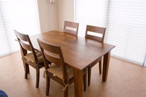 Barrel Basque Honey 65 Dining Table