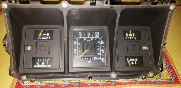 1979 ford f250 gauge cluster
