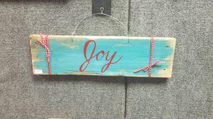Joy sign for Sale in Burns, KS