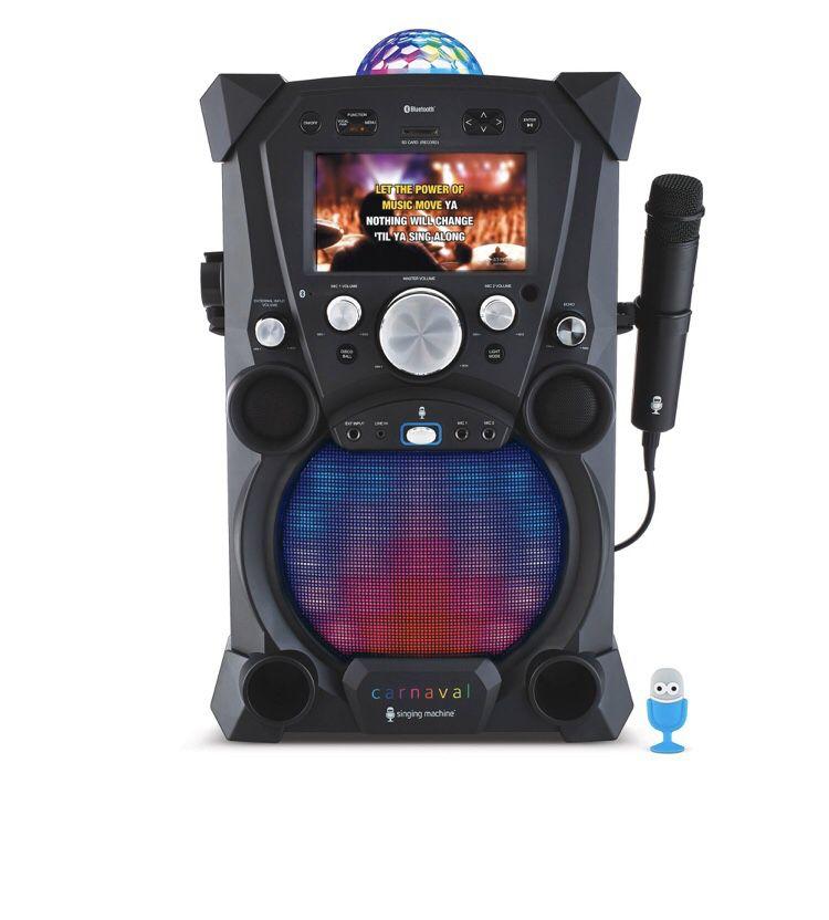 Singing speaker/karaoke machine