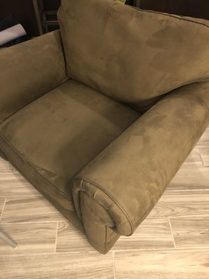 Olive Green Oversized lounge chair for Sale in Washington, DC