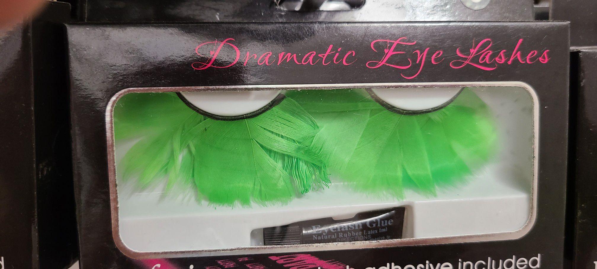Halloween eyelashes