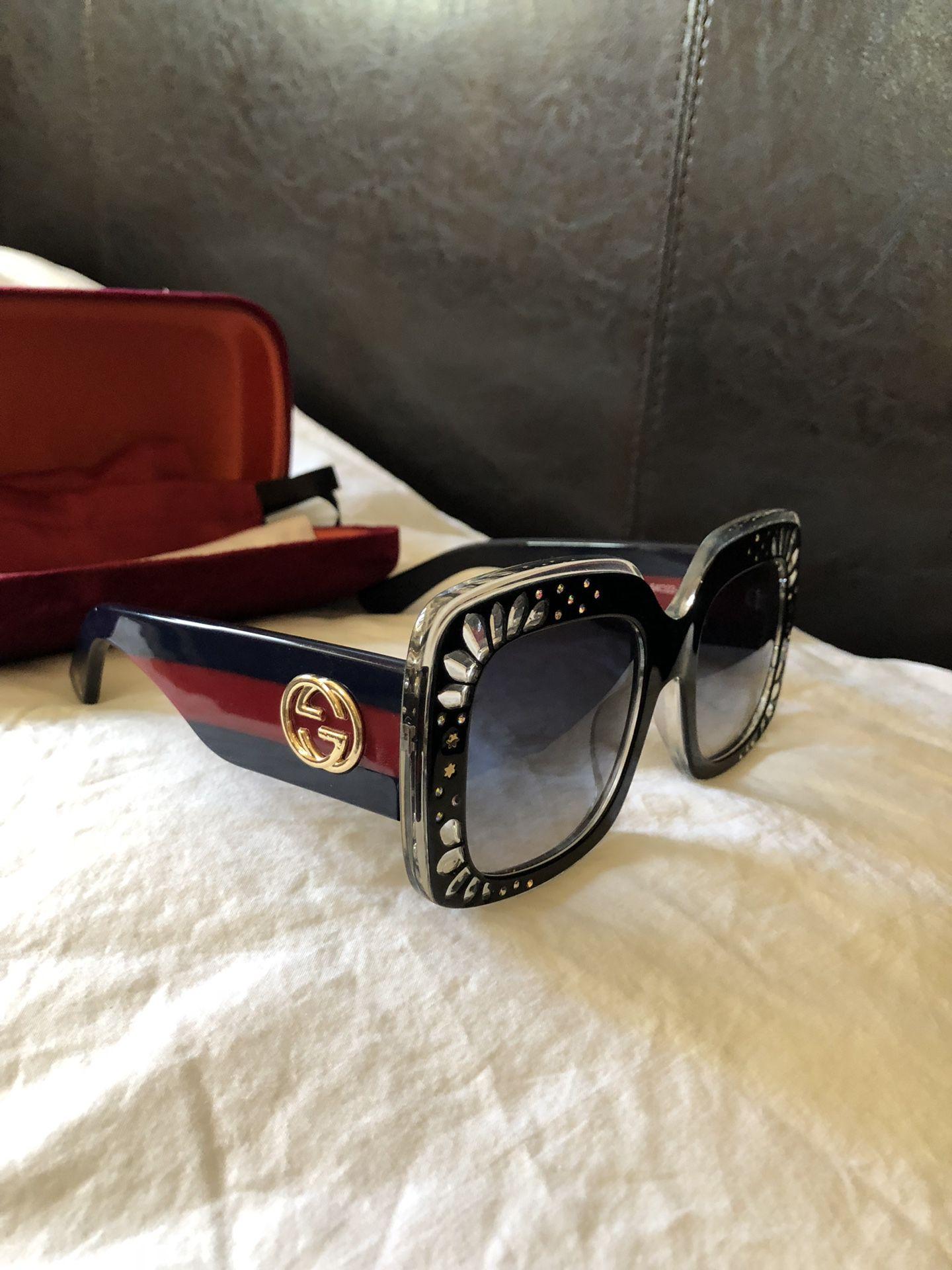 authentic women gucci sunglasses