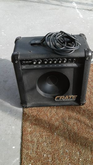 CRATE guitar amp GX-15R for Sale in Joint Base Lewis-McChord, WA