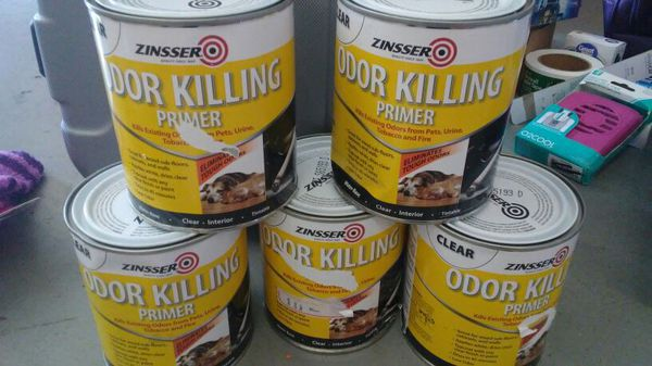 Zinsser Odor Killing Primer Quart For