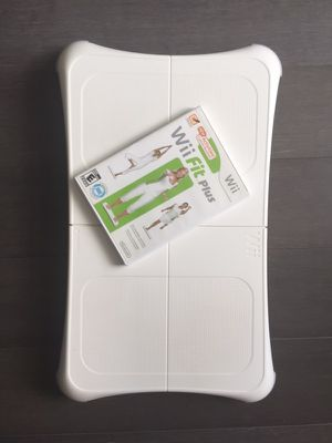 Wii balance board and game for Sale in Washington, DC