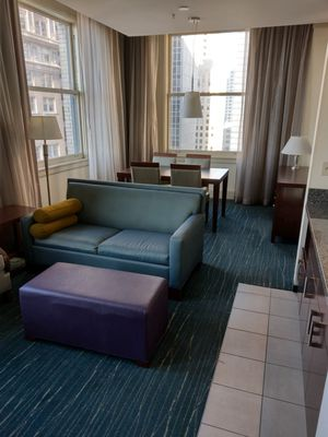 FREE Luxury Hotel Sofa Sleepers / Chairs / Ottoman for Sale in Seattle, WA