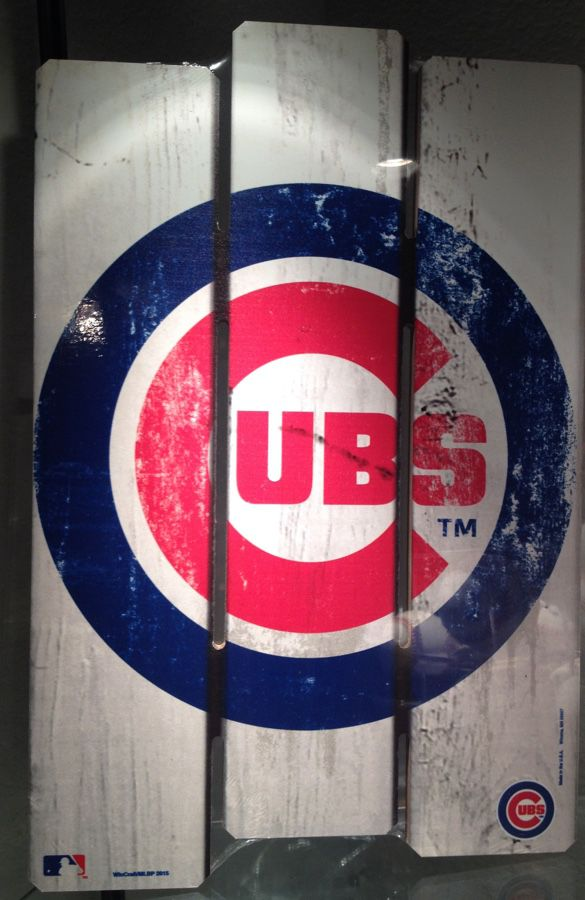 Chicago Cubs Wood Sign For Sale In Az Us Offerup