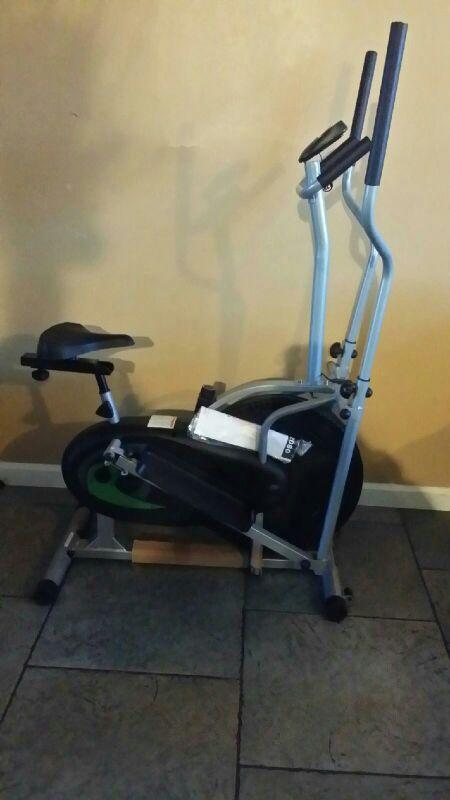New 2 in 1 Dual cardio elliptical