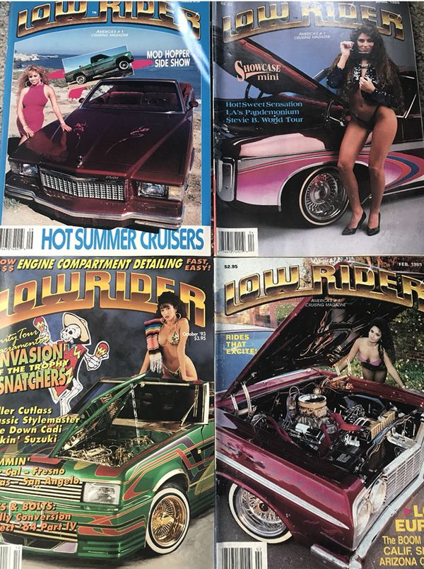 10 LOWRIDER MAGAZINES VINTAGE 89-94 RARE (Books & Magazines) in ...