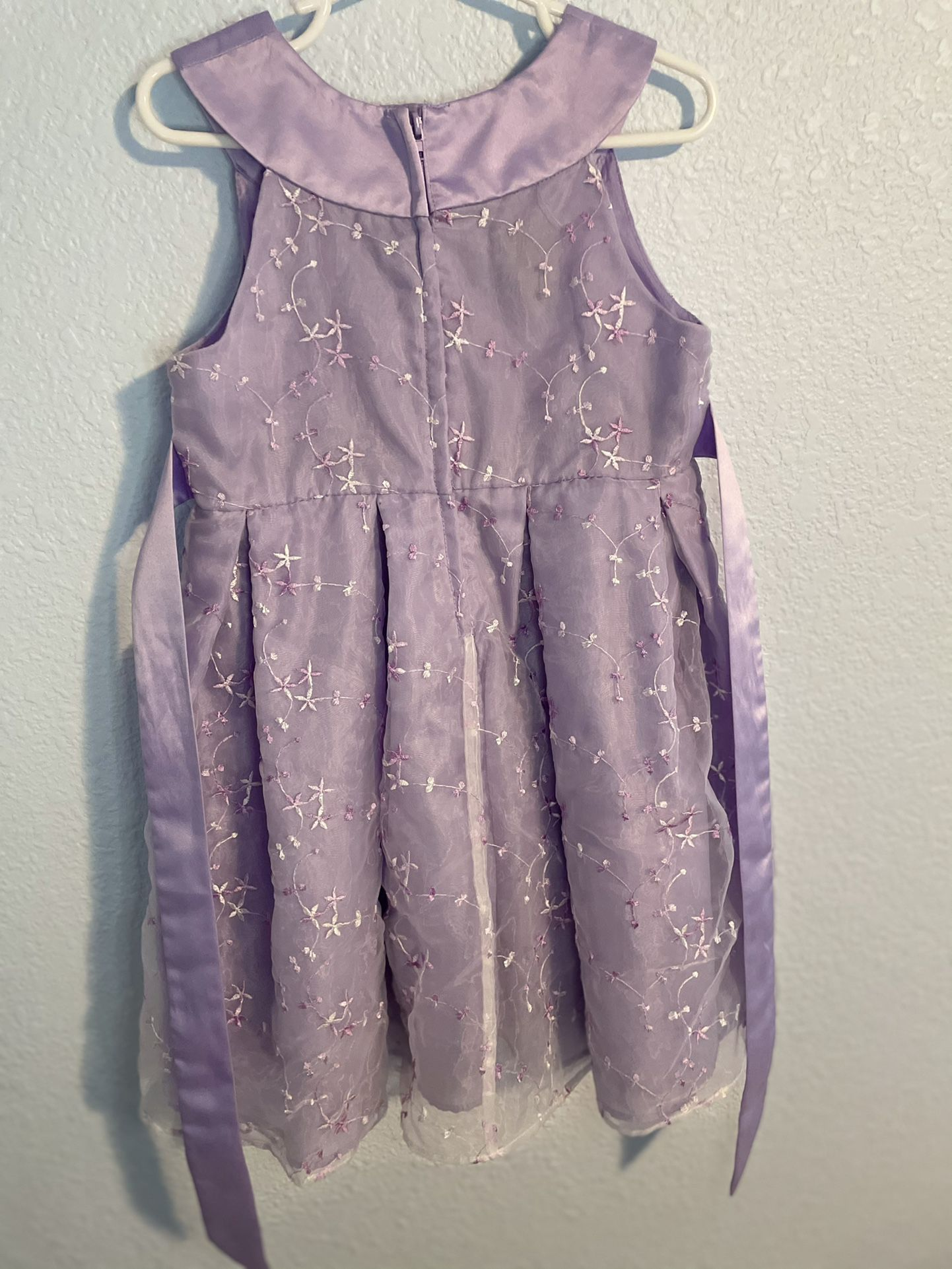 Lavender Spring Dress