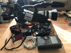 Canon XL2 Camcorder with digital recorder for Sale in Washington, DC