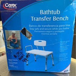 Transfer Bath Bench Shower Chair Thumbnail