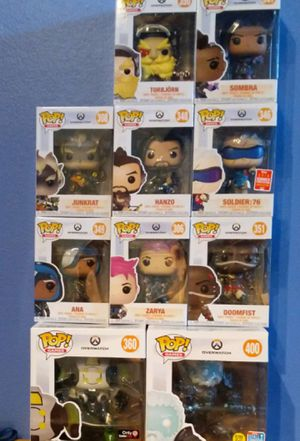 Funko Pop Dolls Overwatch exclusives for Sale in Sugar Land, TX