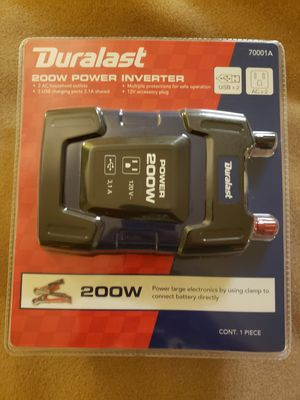 Photo Brand New Duralast 200w Power inverter The Ultimate Car Charger
