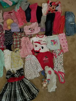 Great condition Baby Girl clothes, shoes, equipment for Sale in Newport News, VA