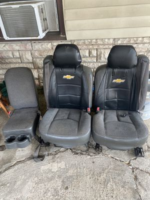 Photo Chevy silverado seats