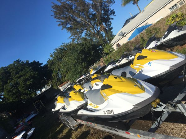 Yamaha V1 & VX jet skis for sale running with title cheap ...