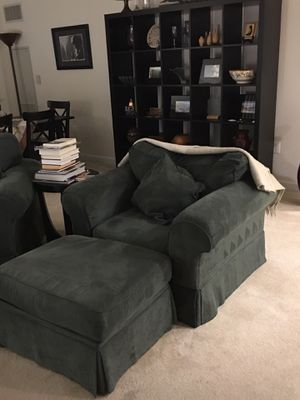 Sleeper Sofa with chair and ottoman for Sale in Arlington, VA