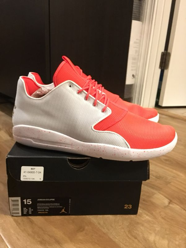 b3ddd2b58ab74a BRAND NEW   NEVER WORN  SIZE 15 AIR JORDAN ECLIPSE INFRARED COLORWAY ...