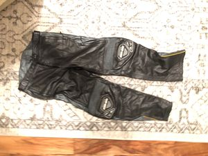 Canam leather motorcycle pants for Sale in Houston, TX