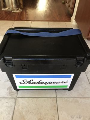 Fishing seat tackle box for Sale in Hawthorne, CA