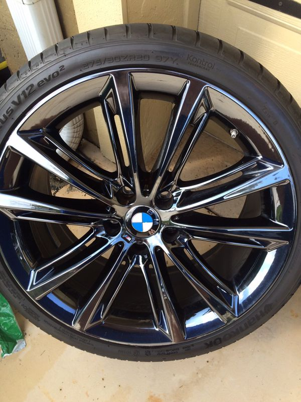 Bmw 5 Series Black Chrome Wheels And Tires 20 For Sale In Naples Fl Offerup