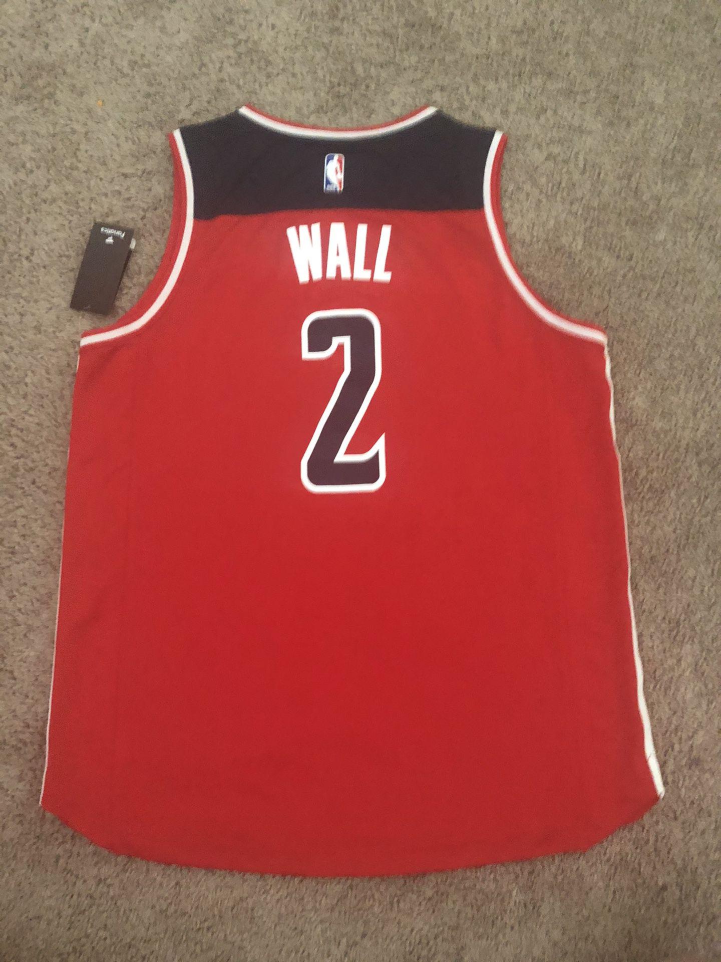 WA WIZARDS #2 WALL JERSEY