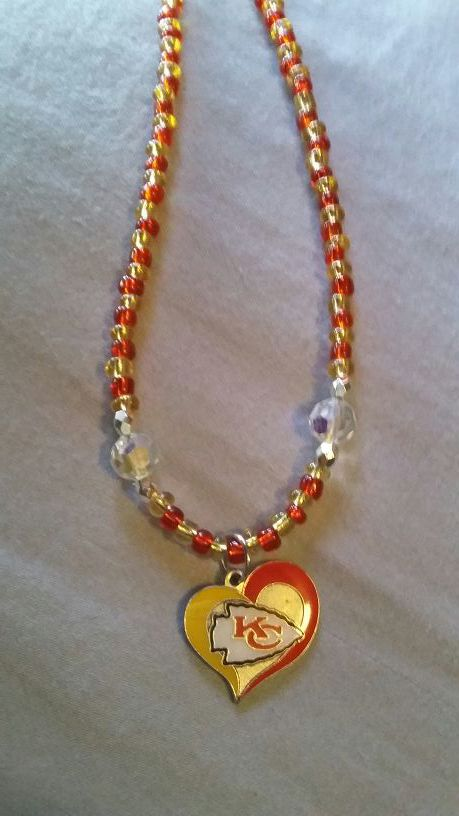 Chiefs necklace