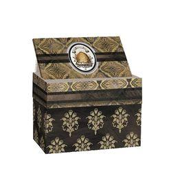 Honey & Grey Recipe Card Box by Lori Siebert Thumbnail