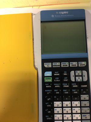 ti nspire scientific calculator for sale in exeter ca offerup