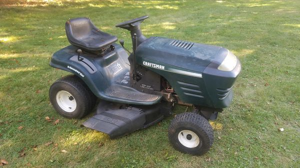 Used Craftsman Tractor Seat : Craftsman lt riding tractor for sale in gouldsboro pa