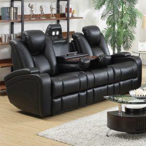 Delange Reclining Power Sofa with Adjustable Headrests & Storage in Armrests for Sale in Atlanta, GA