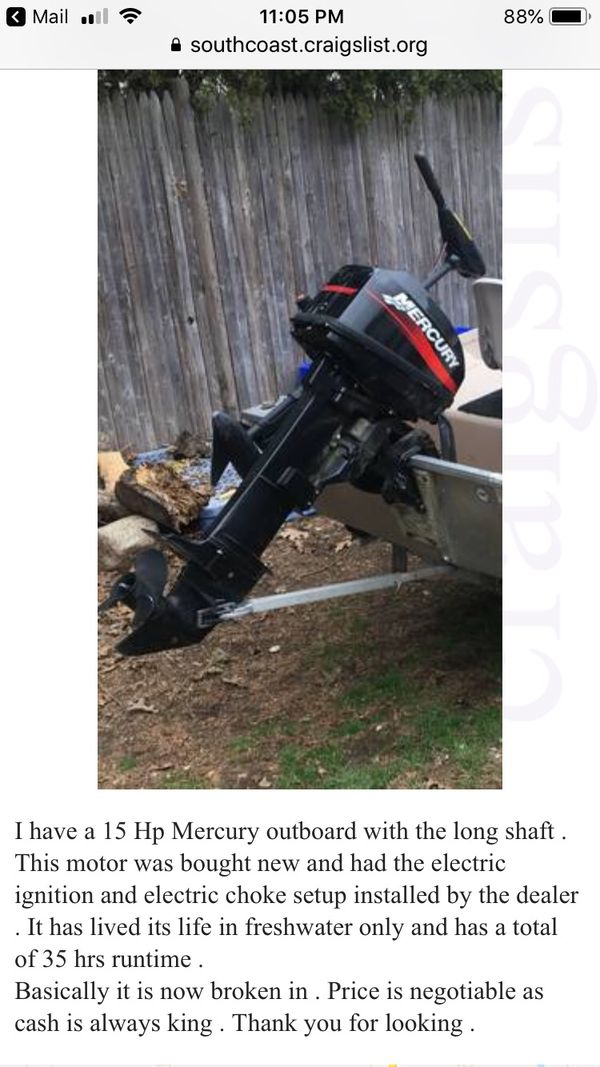 New and Used Outboard motors for Sale in Cranston, RI - OfferUp
