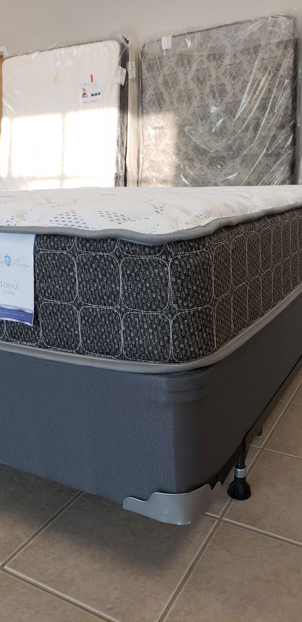 Plush Top Mattress Ask About Columbus Day Pricing For Sale