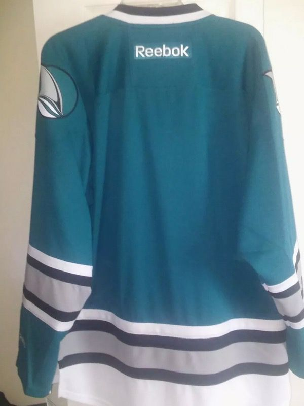 low priced 6be04 e6a1c san jose heritage jersey