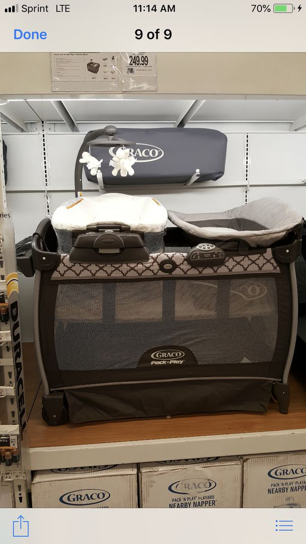 9cba229b4524 Graco Pack n Play nearby napper for Sale in Chula Vista
