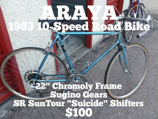 03b2d0e39da ALL ORIGINAL÷ Vintage ARAYA 10-Speed for Sale in Colorado Springs ...