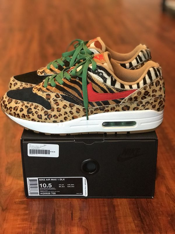 Nike Air Max 1 DLX Atmos Animal Pack for Sale in Lake Forest, CA OfferUp