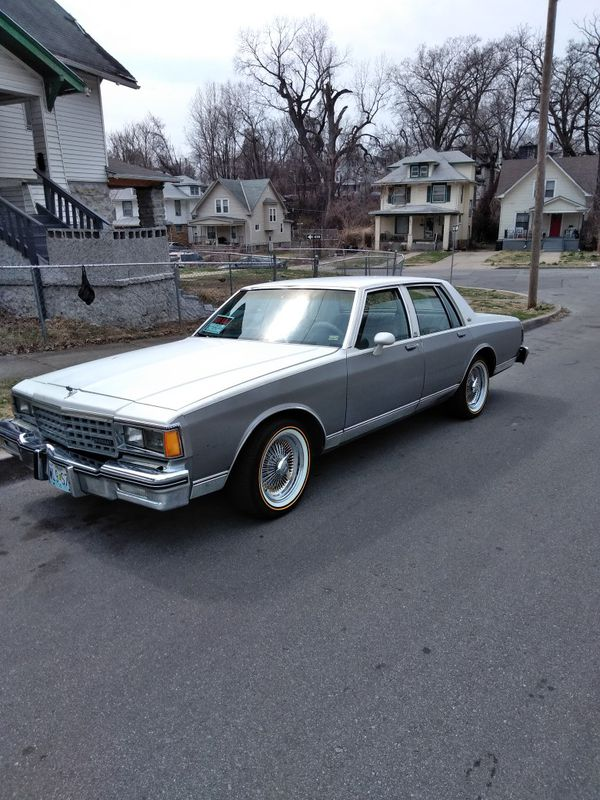 83 Chevy caprice classic (Cars & Trucks) in Kansas City, MO - OfferUp