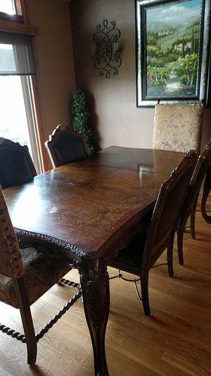 Dining Room Table And 6 Chairs For In Wichita Ks