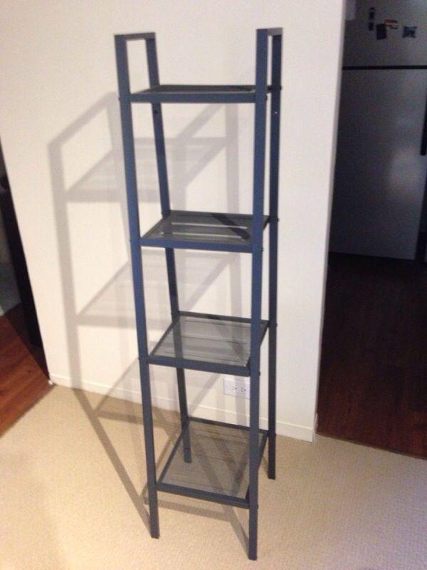 IKEA Lerberg Shelf Unit Bookcase Dark Gray for Sale in Chicago, IL on