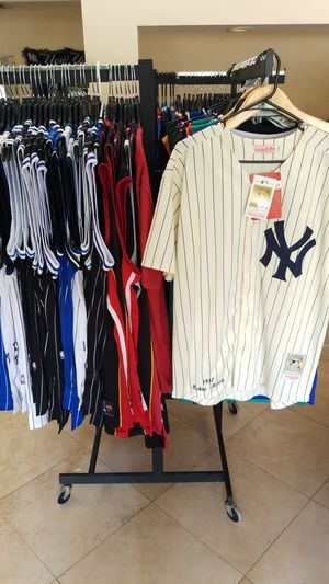 NBA AND MLB THROWBACK JERSEYS SIZE SMALL TO 2XL for Sale in Fort Lauderdale 717641206