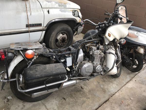 Kawasaki kz1000 police bike for Sale in Stockton, CA - OfferUp