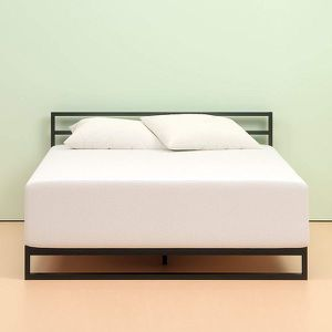 Photo New in box QUEEN size 12 Memory foam mattress $189 or $250 with platform bed frame